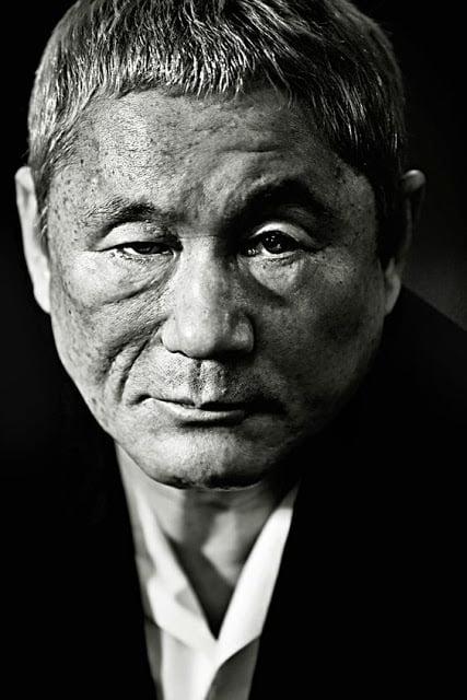 Takeshi Kitano Portrait BW 20181013