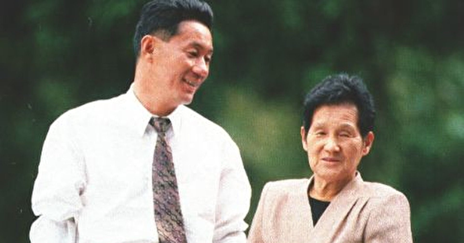 Takeshi Kitano and Mother Smile