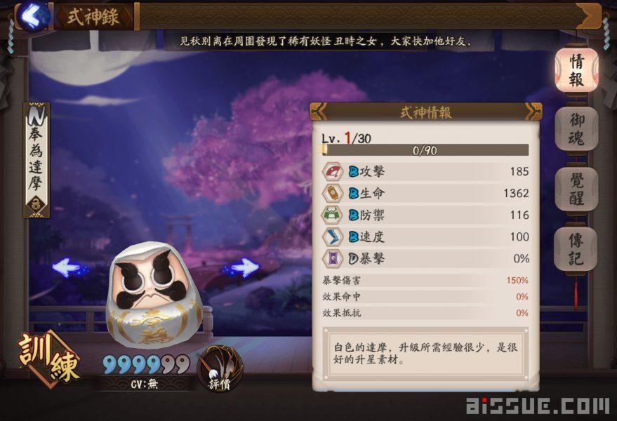 陰陽師/SSR、SR、R卡式神升六星需要幾顆白蛋(奉為達摩)?