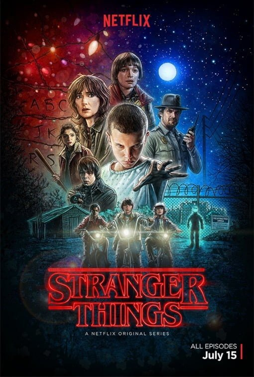 Stranger Things Movie Netflix 原創電視劇:怪奇物語(第一季)/Stranger Things(Season 1 )劇情簡介