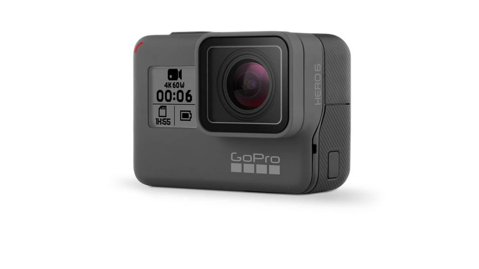 GoPro Hero 6 Black Action Camera Product GoPro Hero 6 Black 運動攝影機的缺點?