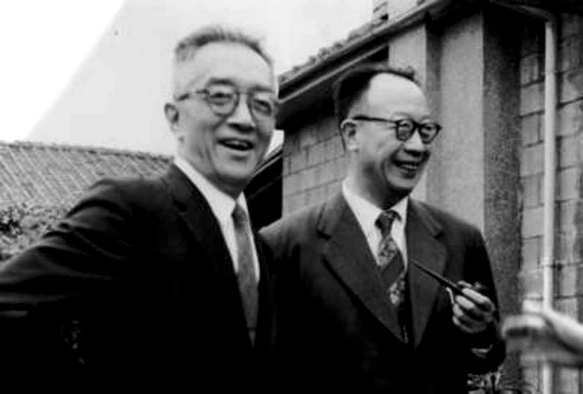 Hu Shih Friend Vintage Image 2018
