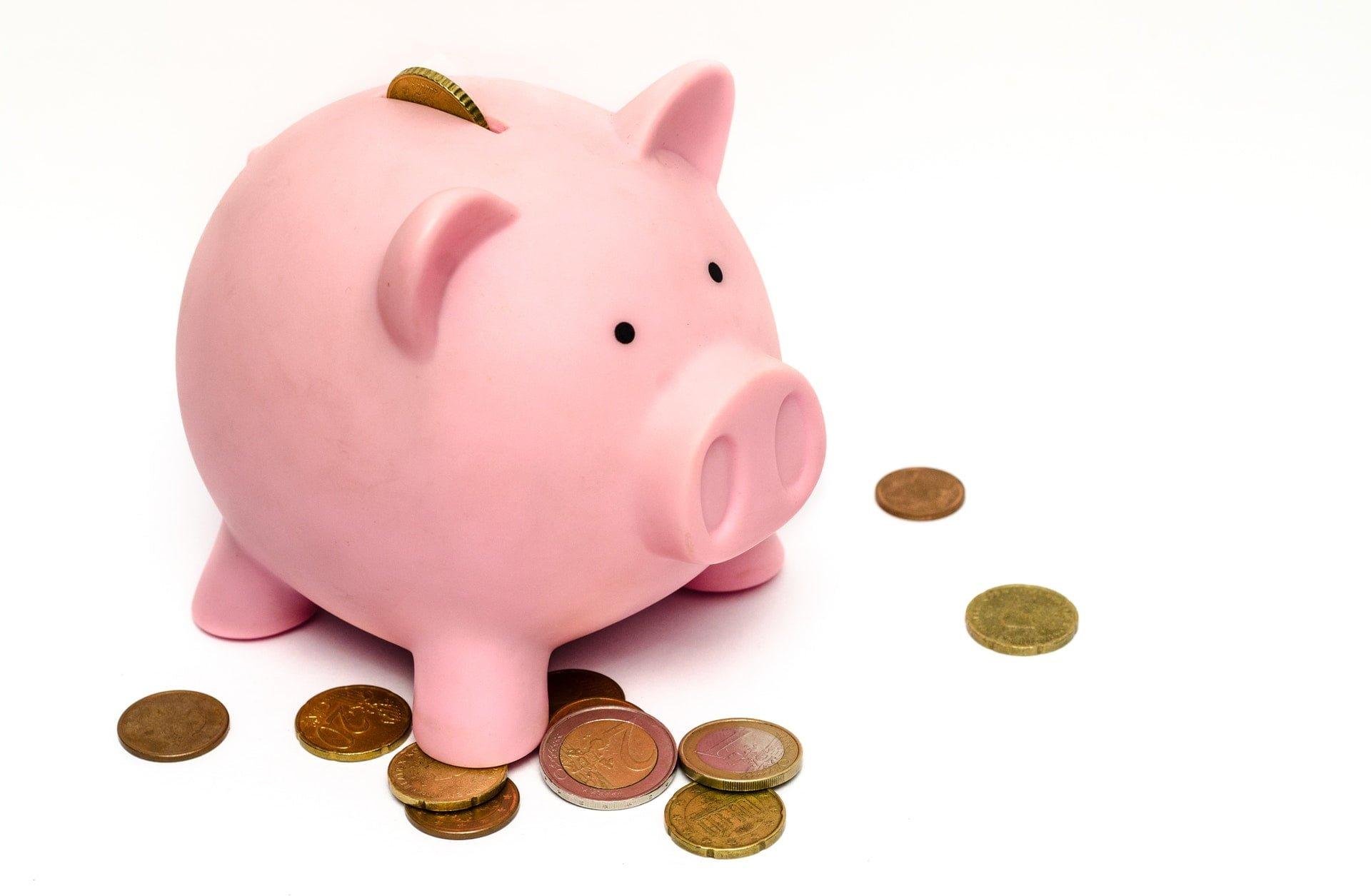 粉紅豬存錢筒