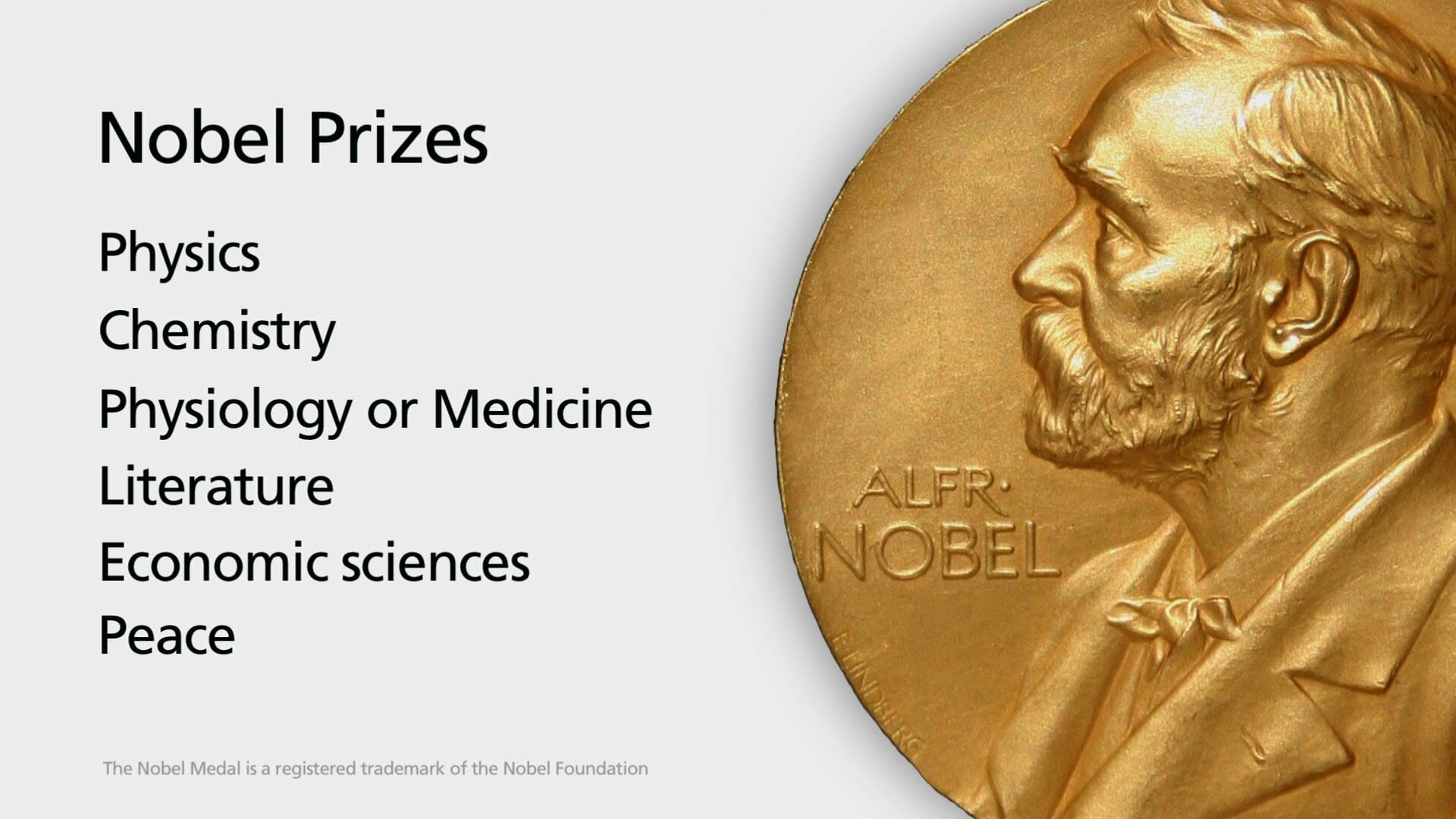 Nobel Prizes Winners and Research Areas