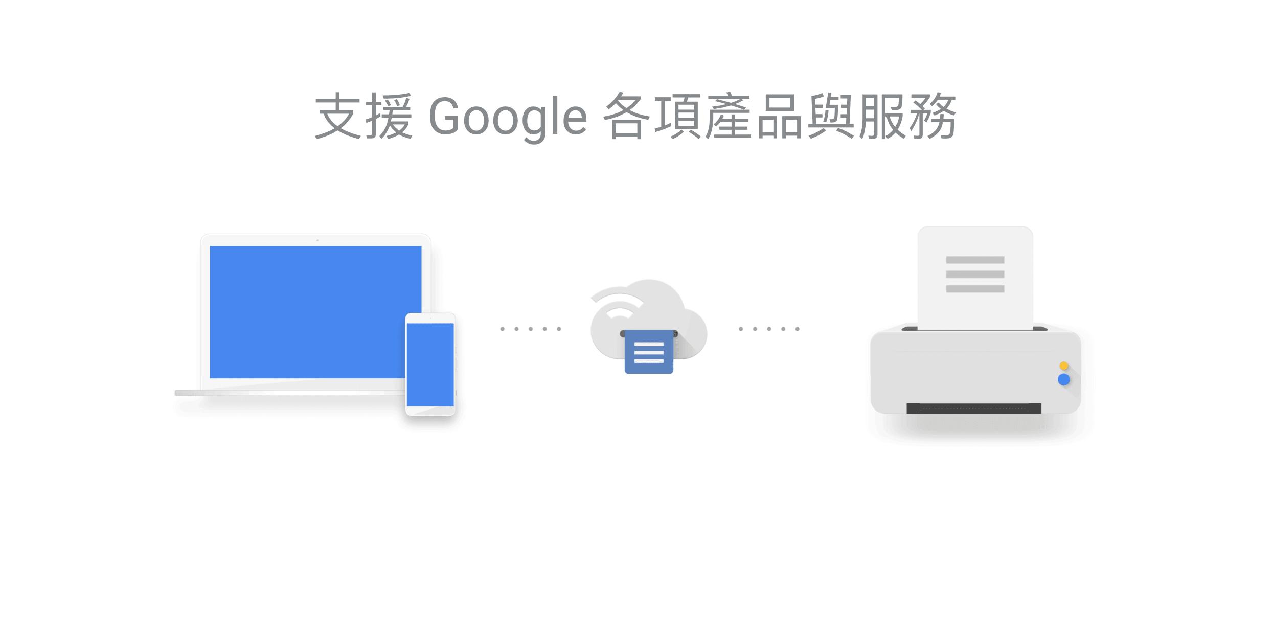 Google Cloud Print Offical Page Google 雲端列印 GCP 支持哪些網路雲端連線印表機產品、型號?